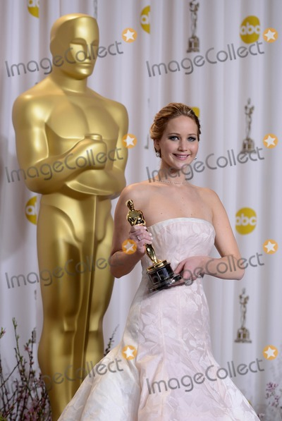 Jennifer Lawrence Photo - 24th February, 2013: 85th Annual Academy Awards - Oscars Arrivals. Dolby Theatre, Hollywood, CA.
