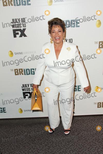 "Alma Martinez Photo - Photo by: GPTCW/starmaxinc.com2013ALL RIGHTS RESERVEDTelephone/Fax: (212) 995-11967/8/13Alma Martinez at the premiere of ""The Bridge"".(Los Angeles, CA)"