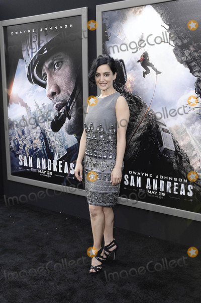 """Archie Panjabi Photo - Photo by: Michael Germana/starmaxinc.comSTAR MAX2015ALL RIGHTS RESERVEDTelephone/Fax: (212) 995-11965/26/15Archie Panjabi at the premiere of """"San Andreas"""".(Los Angeles, CA)"""