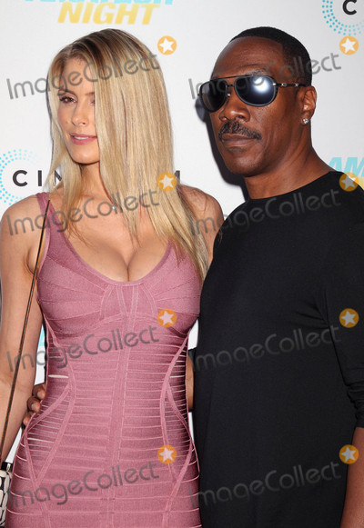 """Eddie Murphy, PAIGE BUTCHER Photo - Photo by: RE/Westcom/starmaxinc.comSTAR MAX2016ALL RIGHTS RESERVEDTelephone/Fax: (212) 995-11967/25/16Eddie Murphy and Paige Butcher at the premiere of """"Amateur Night"""".(Hollywood, CA)"""