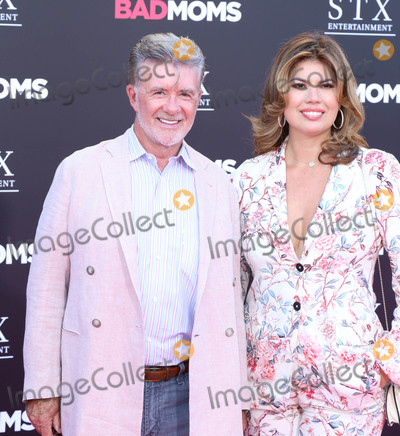 """Alan Thicke Photo - Photo by: Wilbur/starmaxinc.comSTAR MAX2016ALL RIGHTS RESERVEDTelephone/Fax: (212) 995-11967/26/16Alan Thicke at the premiere of """"Bad Moms"""".(Los Angeles, CA)"""