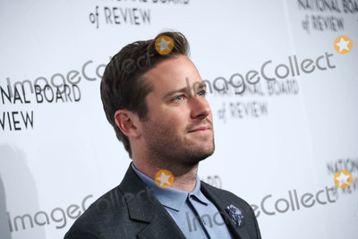 Armie Hammer Photo - Photo by: Jonathan Nacion/starmaxinc.comSTAR MAX2018ALL RIGHTS RESERVEDTelephone/Fax: (212) 995-11961/9/18Armie Hammer at The National Board of Review Annual Awards Gala (NBR) in New York City.