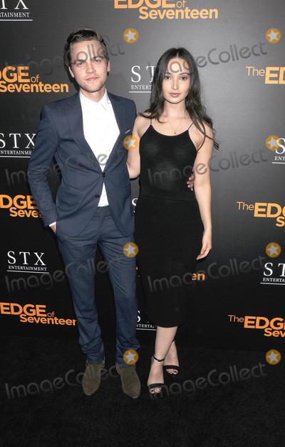 "Edge, The Edge, Alexander Calvert, Jenna Burnham Photo - Photo by: Galaxy/starmaxinc.comSTAR MAX2016ALL RIGHTS RESERVEDTelephone/Fax: (212) 995-119611/9/16Alexander Calvert and Jenna Burnham at a screening of ""The Edge of Seventeen"".(Los Angeles, CA)"