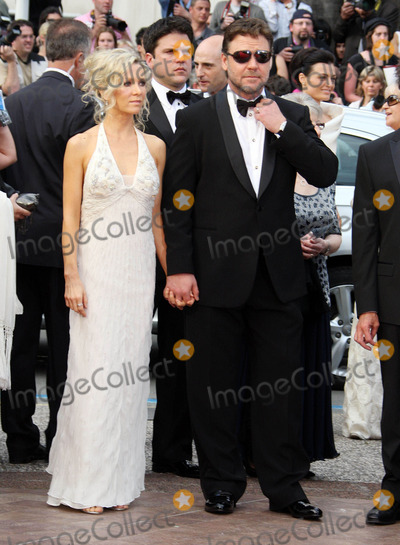 Photos and Pictures - Russell Crowe and Danielle Spencer at the