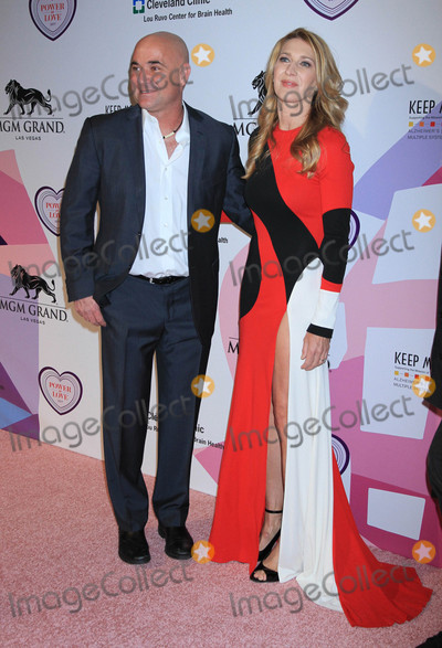 Andre Agassi, Steffi Graf Photo - Photo by: Raoul Gatchalian/starmaxinc.comSTAR MAX2017ALL RIGHTS RESERVEDTelephone/Fax: (212) 995-11964/27/17Andre Agassi and Steffi Graf at Keep Memory Alive's  21st Annual Power of Love Gala atMGM Grand Garden Arena in Las Vegas, Nevada.