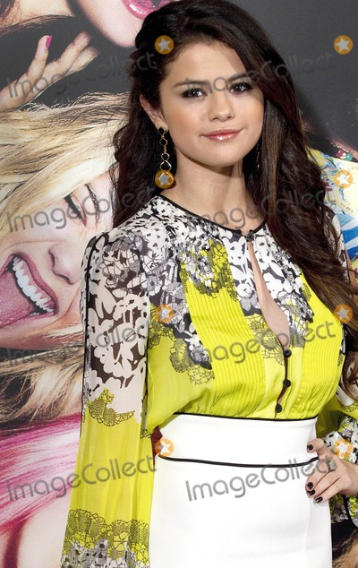 """Gomez, Selena Gomez Photo - Photo by: RF/Monochrome/starmaxinc.com2013ALL RIGHTS RESERVEDTelephone/Fax: (212) 995-11962/21/13Selena Gomez at the premiere of """"Spring Breakers"""".(Madrid, Spain)***U.S.A. and Canada syndication only!***"""