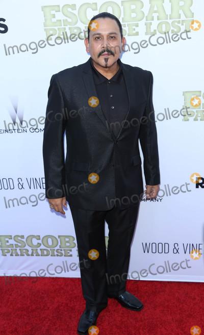 "Emilio Rivera Photo - Photo by: JMA/starmaxinc.comSTAR MAX2015ALL RIGHTS RESERVEDTelephone/Fax: (212) 995-11966/22/15Emilio Rivera at the premiere of ""Escobar: Paradise Lost"".(Los Angeles, CA)"