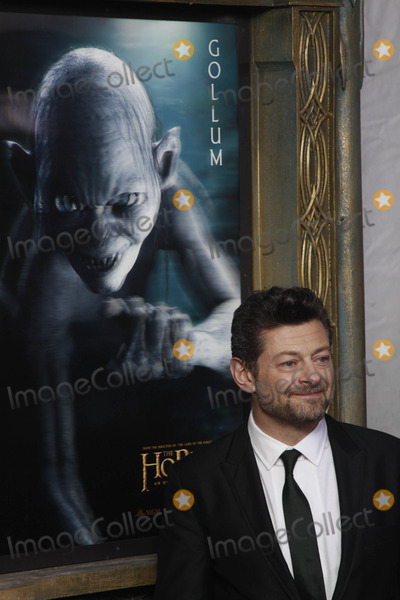 Andy Serkis Photo - Photo by: John M. Mantel/starmaxinc.com12/6/12(NYC)Andy Serkis arrives at The Hobbit movie premiere.
