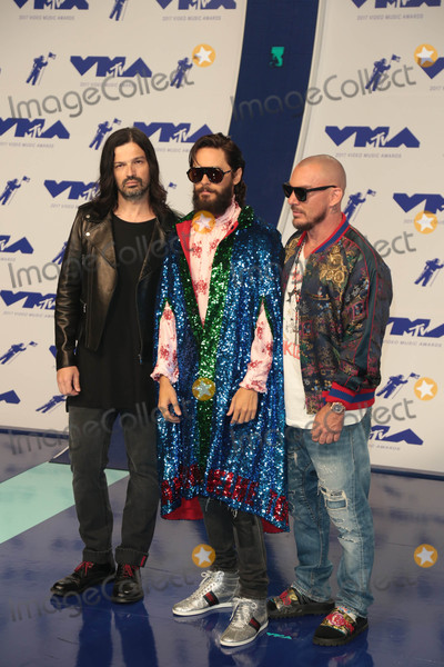 30 Seconds to Mars Photo - Photo by: gotpap/starmaxinc.comSTAR MAX2017ALL RIGHTS RESERVEDTelephone/Fax: (212) 995-11968/27/17Jaret Leto (30 Seconds To Mars) at The 2017 MTV Video Music Awards in Los Angeles, CA.