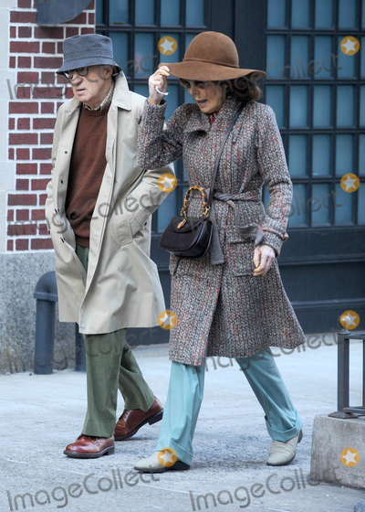 As Yet, Elaine May, Woody Allen Photo - Photo by: Dennis Van Tine/starmaxinc.comSTAR MAXCopyright 2016ALL RIGHTS RESERVEDTelephone/Fax: (212) 995-11963/7/16Woody Allen and Elaine May on the set of the as yet untitled Woody Allen Television Series Production for Amazon Studios.(NYC)