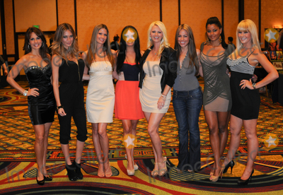 """Photo - LOS ANGELES, CA - OCTOBER 1: """"Deal Or No Deal"""" models at the Sign of the Times Convention held at LAX Marriott Hotel on Saturday October 1, 2011  in Lo Angeles, California  (Albert L. Ortega/ImageCollect.com)"""