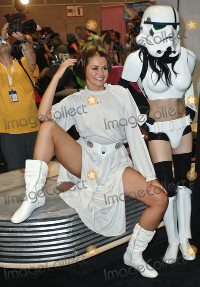 Darth Vader, Allie Haze Photo - LOS ANGELES, CA - AUGUST 27:  Adult Film Star Allie Haze and Darth Vader eXXXotica Los Angeles  at the Los Angeles COnvention Center West Hall on August 27, 2011  in Downtown Los Angeles, California  (Albert L. Ortega/ImageCollect.com)