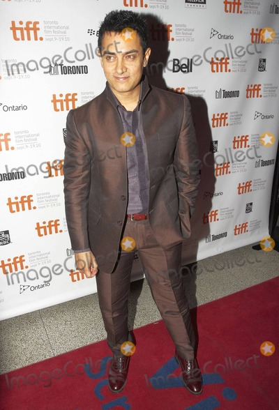 """Aamir Khan Photo - Hindi film superstar Indian actor and director Aamir Khan arrives for the premiere of """"Dhobi Ghat"""" held at The Elgin Theater during the 2010 Toronto International Film Festival. Toronto, ON. 09/10/10."""