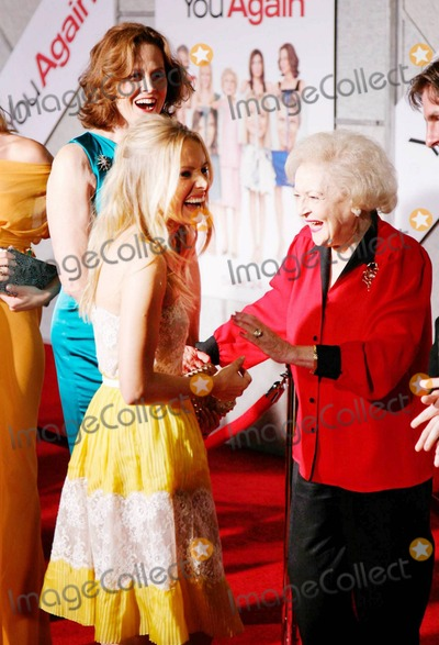 Betty White, Kristen Bell, Sigourney Weaver Photo - Sigourney Weaver, Betty White and Kristen Bell at the You Again premiere in Los Angeles, CA. 9/22/10