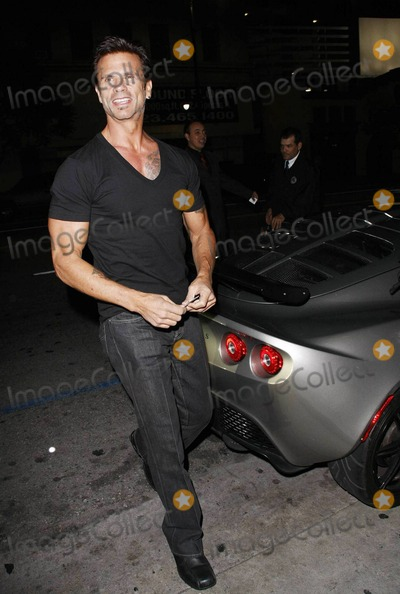 A.J. Lamas, Shawna Craig, Lorenzo Lamas, Shawna, AJ Lamas Photo - Actor Lorenzo Lamas celebrates his 53rd birthday with fiance Shawna Craig and son Alvaro Joshua 'A.J.' Lamas at Katsuya.  Lorenzo posed Shawna, who wore very tight and low-riding patterned pants with a tiny top, in front of his sleek grey sports car. Los Angeles, CA. 01/20/11.