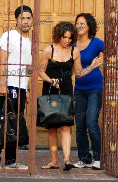 """Jennifer Grey, Gianfranco Ferrè, Gianfranco Ferré Photo - """"Dirty Dancing"""" and """"Ferris Bueller's Day Off"""" star Jennifer Grey leaves the """"Dancing with the Stars"""" studios after rehearsals for the upcoming season of the show which premieres September 20. Los Angeles, CA. 9/5/10."""