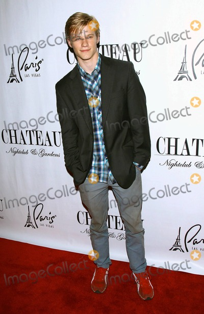 """Hannah Montana, Lucas Till, Taylor Swift Photo - """"Hannah Montana: The Movie"""" and """"X-Men: First Class"""" star Lucas Till celebrates his 21st birthday at Chateau inside Paris Las Vegas. Till also starred in Taylor Swift's music video for """"You Belong To Me."""" Las Vegas, NV. 12th August 2011."""