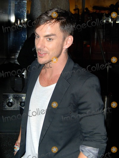 Shannon Leto, 30 Seconds to Mars, The Blonds Photo - Brothers Jared and Shannon Leto of the band 30 Seconds to Mars leave the restaurant Katsuya after dinner. The blonde Jared wore a thigh-length leather coat over his black t shirt and jeans as the two waited for their vehicle outside. Los Angeles, CA. 9/12/10.
