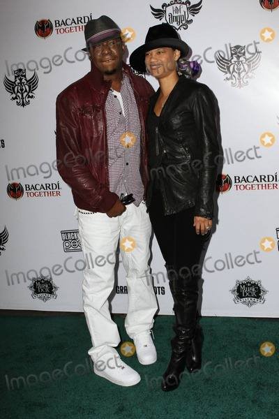 Alicia Etheridge, Black Eyed Peas, Black-Eyed Peas, Bobbi Brown, Bobby Brown Photo - Bobby Brown and girlfriend Alicia Etheridge arrive at the seventh annual Black Eyed Peas Peapod Benefit Concert held at the Music Box Theatre. Los Angeles, CA. 02/10/11.