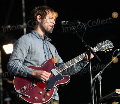 Aaron Dessner, The National Photo - Aaron Dessner of The National performs at Day Two of the Reading Festival 2011. Reading, UK. 27th August 2011.