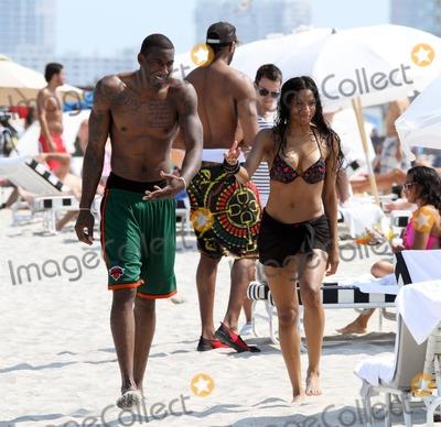 Amar'e Stoudemire, Amare Stoudemire, Ciara Photo - Bikini beauty Ciara shows off her amazing figure while taking a break on the beach with her boyfriend Amar'e Stoudemire following an earlier jet ski ride. Miami Beach, FL. 5/14/11.