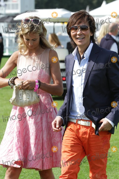 Andy Wong, Victoria Hervey Photo - Victoria Hervey and Andy Wong at the Cartier International Polo At Windsor Great Park, UK, 07/24/11.
