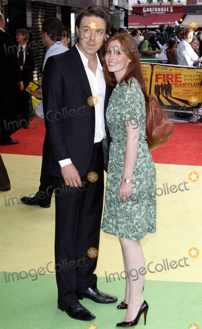 """andrew buchan, Amy Nutall Photo - Andrew Buchan and Amy Nutall at the European premiere of """"Fire in Babylon"""" at Odeon Leicester Square. London, UK. 5/9/11."""