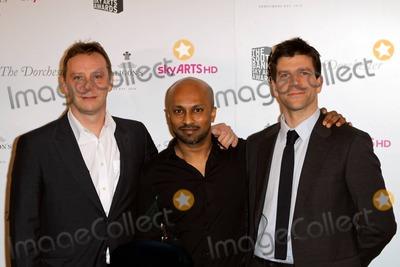 Akram Khan Photo - Akram Khan (c) and Ballet Boyz at the South Bank Sky Arts Awards at the Dorchester in London, UK. 1/25/11.