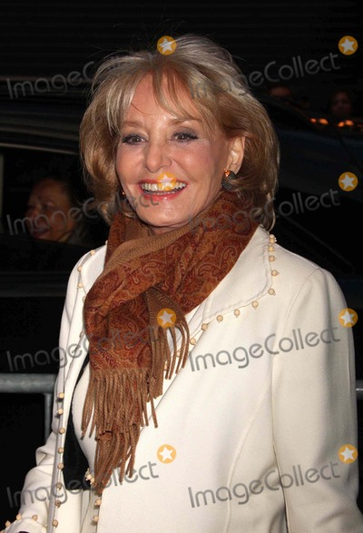 """Barbara Walters Photo - Barbara Walters Arriving the Opening Night Performance of """"God of Carnage at the Bernard B. Jacobs Theatre in New York City on 03-22-2009. Photo by Henry Mcgee-Globe Photos, Inc. 2009."""