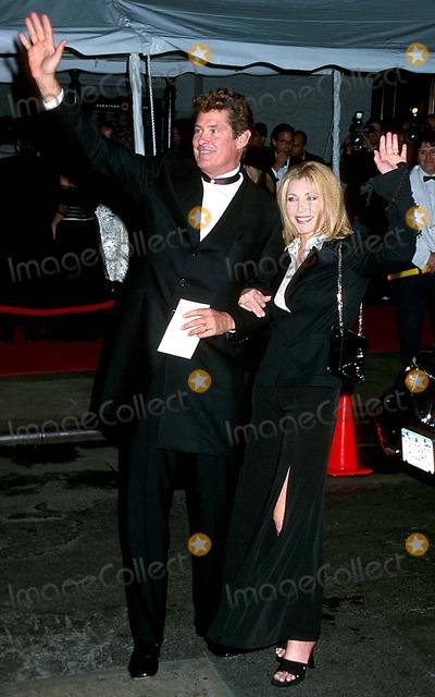 David Hasselhoff, David Gest, Liza Minnelli Photo - Sd03162002 Liza Minnelli & David Gest Wedding Reception at the Regent Wall Street, New York City Photo: Henry Mcgee/ Globe Photos Inc. 2002 David Hasselhoff