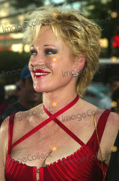 """Melanie Griffith, Melanie Griffiths Photo - Melanie Griffith at the Premiere of """"Once Upon a Time in Mexico"""" at Loews Lincoln Square in New York City on September 7, 2003. Photo Henry Mcgee/Globe Photos, Inc. 2003."""
