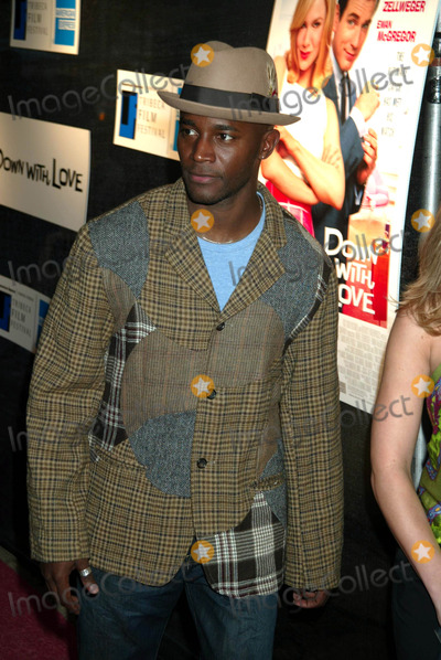"""Taye Diggs Photo - Sd05/06/2003 Tribeca Film Festival Premiere of """"Down with Love"""" at the Tribeca Performing Arts Center, New York City. Photo by Henry Mcgee / Globe Photos,inc. Taye Diggs"""