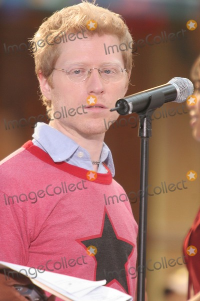 Anthony Rapp, The Cast Photo - New York, NY 8-4-2005Anthony Rapp performing with the cast of the movie RENT on The Today Show Toyota Concert Series in Rockefeller Center.Digital Photo by Lane Ericcson-PHOTOlink.org