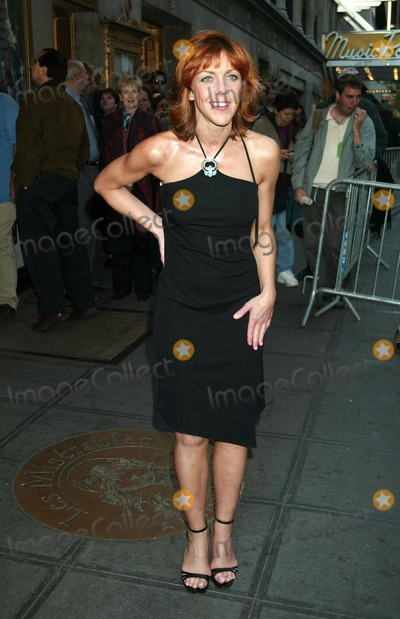 """Andrea McArdle, Les Miserables Photo - ANDREA MCARDLE ARRIVING AT THE FINAL PERFORMANCE AND CLOSING CELEBRATION FOR THE SECOND LONGEST-RUNNING SHOW IN BROADWAY HISTORY, """"LES MISERABLES"""" AT THE IMPERIAL THEATRE IN NEW YORK CITY ON MAY 18, 2003.PHOTO  HENRY MCGEE/GLOBE PHOTOS, INC. 2003.K30710HMc."""