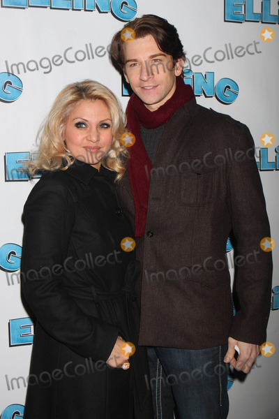 """Orfeh, Andy Karl, Ethel Barrymore Photo - Orfeh and Andy Karl Arriving at the Opening Night Performance of """"Elling"""" at the Ethel Barrymore Theatre in New York City on 11-21-2010. Photo by Henry Mcgee-Globe Photos, Inc. 2010."""