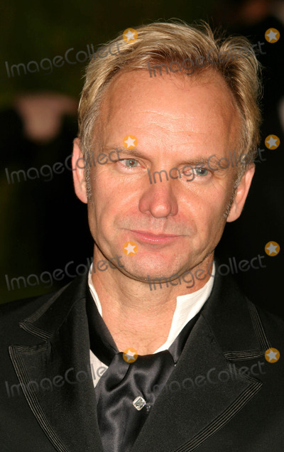 Sting Photo - Sting at Vanity Fair Oscar Party at Mortons in West Hollywood, CA on February 29, 2004. Photo by Henry Mcgee/Globe Photos, Inc. 2004.