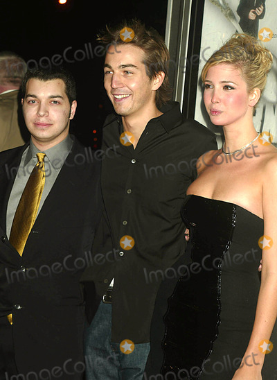Ivanka Trump, Jamie Johnson, S I Newhouse, S. I. Newhouse, S.I. Newhouse, Group Shot Photo - S.i. Newhouse Iv, Jamie Johnson and Ivanka Trump Arriving at the Premiere of Hbo's Born Rich at the Screening Room in New York City on October 15, 2003. Photo Henry Mcgee/Globe Photos, Inc. 2003.