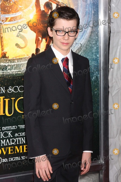 "Asa Butterfield Photo - Asa Butterfield Arriving at the World Premiere of Paramount Pictures' ""Hugo in 3d"" at the Ziegfeld Theatre in New York City on 11-21-2011. Photo by Henry Mcgee-Globe Photos, Inc. 2011."