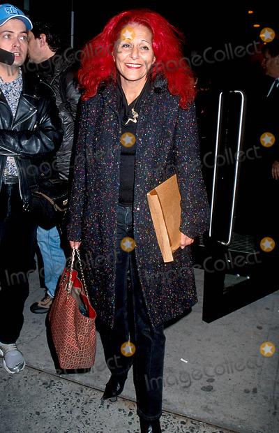 Patricia Field, Calvin Klein, PATRICIA FIELDS Photo - Sd02152002 Calvin Klein Fall 2002 Fashion Show Photo: Henry Mcgee/ Globe Photos Inc. 2002 Patricia Field