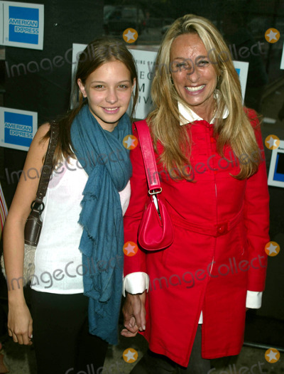 """Ann Jones, Anne Jones Photo - Ann Jones and Daughter at Premiere of """"Death of a Dynasty"""" at 2003 Tribeca Film Festival at Tribeca Performing Arts Center in New York City on May 7, 2003. Photo by Henry Mcgee/Globe Photos, Inc. 2003."""