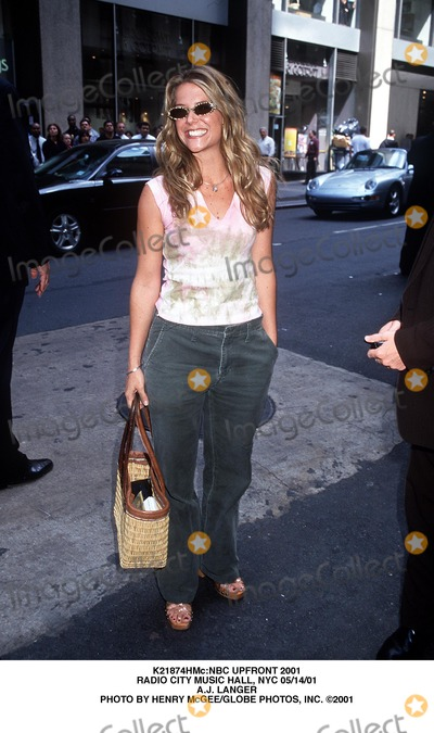A.J. Langer Photo - :nbc Upfront 2001 Radio City Music Hall, NYC 05/14/01 A.j. Langer Photo by Henry Mcgee/Globe Photos, Inc.