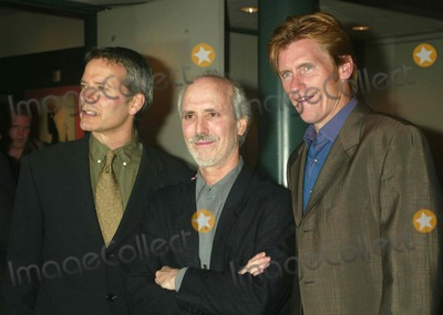 """Alan Rudolph, Campbell Scott, Denis Leary Photo - Campbell Scott, Alan Rudolph and Denis Leary at the Screening of """"the Secret Lives of Dentists"""" at the Walter Reade Theater at Lincoln Center in New York City on July 29, 2003. Photo Henry Mcgee/Globe Photos, Inc. 2003."""