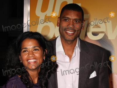 """Allan Houston Photo - Allan Houston and Wife Tamara Arriving at the Premiere of Warner Bros. Pictures' """"the Informant!"""" at the Ziegfeld Theatre in New York City 09-15-2009. Photo by Henry Mcgee-Globe Photos, Inc. 2009."""
