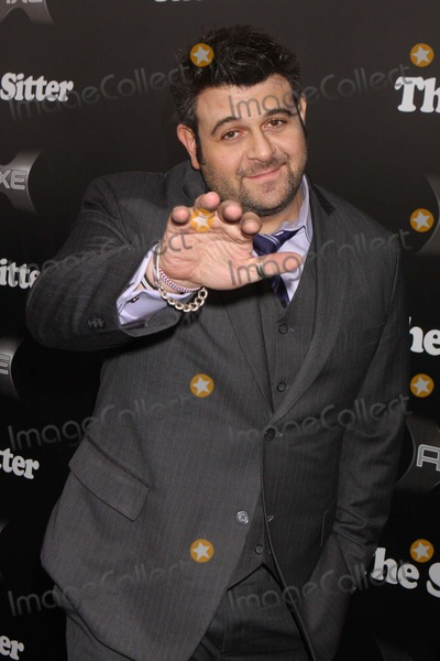"""Adam Richman Photo - Adam Richman From """"Man V. Food Nation"""" Arriving at the Premiere of """"the Sitter"""" at Chelsea Clearview Cinemas in New York City on 12-06-2011. Photo by Henry Mcgee-Globe Photos, Inc. 2011."""