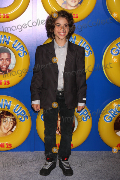 """Cameron Boyce Photo - Cameron Boyce Arriving at a Screening of Columbia Pictures' """"Grown Ups"""" at the Ziegfeld Theater in New York City on 06-23-2010. Photo by Henry Mcgee-Globe Photos, Inc. 2010."""