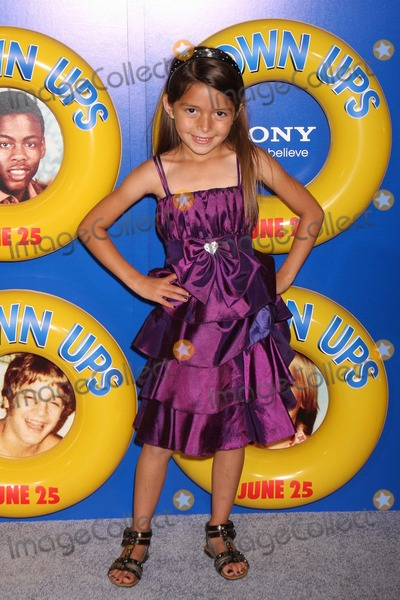 "Alexys Nycole-Sanchez Photo - Alexys Nycole Sanchez Arriving at a Screening of Columbia Pictures' ""Grown Ups"" at the Ziegfeld Theater in New York City on 06-23-2010. Photo by Henry Mcgee-Globe Photos, Inc. 2010."