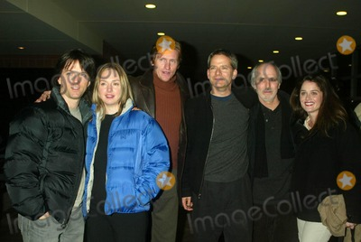 """Alan Rudolph, Campbell Scott, Denis Leary, Hope Davis, Robin Tunney, Group Shot Photo - JOHN PATRICK WALKER, HOPE DAVIS, DENIS LEARY, CAMPBELL SCOTT, ALAN RUDOLPH AND ROBIN TUNNEYARRIVING TO THE SCREENING OF """"THE SECRET LIVES OF DENTISTS"""" AT THE 2003 SUNDANCE FILM FESTIVAL AT THE ECCLES THEATRE IN PARK CITY, UTAH ON JANUARY 24, 2003.PHOTO BY HENRY MCGEE/GLOBE PHOTOS, INC.  2003.K28712HMC"""