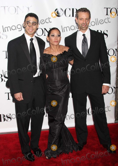Adam Pascal, Daphne Rubin Vega, Daphne Rubin-Vega, Wilson Jermaine Heredia Photo - New York, NY 06-15-2008