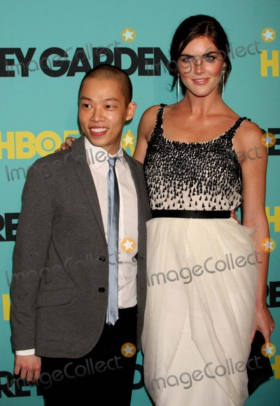 """Jason Wu Photo - Designer Jason Wu and Guest Arriving at the Premiere of Hbo Films' """"Grey Gardens"""" at the Ziegfeld Theater in New York City on 04-14-2009. Photo by Henry Mcgee-Globe Photos, Inc. 2009."""
