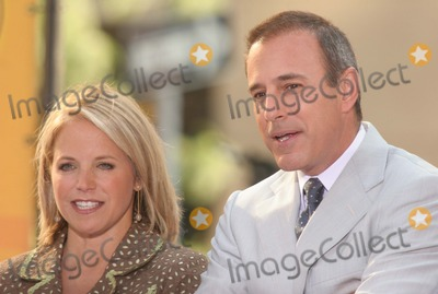 Katie Couric, Matt Lauer Photo - New York, NY 8-4-2005Katie Couric and Matt Lauer on The Today Show Toyota Concert Series in Rockefeller Center.Digital Photo by Lane Ericcson-PHOTOlink.org
